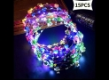 SIWO 15 LED Glow in the Dark hair flower headpieces, detailed review