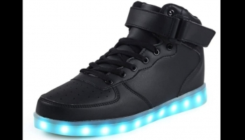 Saguaro Light Up LED Glow in the Dark shoes, detailed review