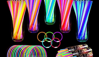 Turnmeon set of 500 glow sticks for neon parties, full review