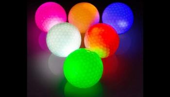 Thiodoon glow in the dark golf balls set, detailed review