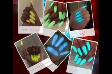 Vrenmol pack of 6 bottles of bright Glow in the Dark nail polish, detailed review
