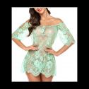 Glow in the dark Avidlove lace negligee lingerie, full review