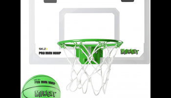 SKLZ Pro glow in the dark mini basketball hoop review