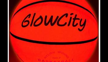 GlowCity glow in the dark basketball review
