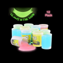Kicko Glow in The Dark Slime 12-pack of assorted neon colors, full review